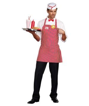 Diner Stud Mens Costume