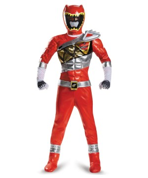 Dino Charge Red Power Ranger Prestige Boys Costume