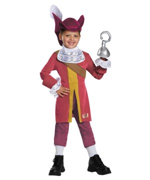 Jake and the Neverland Pirates Captain Hook Boys Costume deluxe