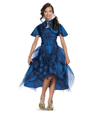 Disneys the Descendants Evie Coronation Girls Costume deluxe