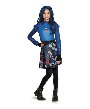 Disney Descendants Evie Isle of the Lost Classic Girls Costume