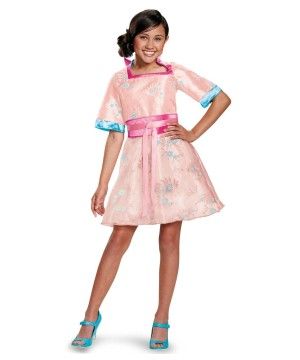 The Descendants Lonnie Coronation Girls Costume deluxe