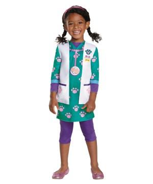 Disney Doc Pet Vet Classic Girls Costume