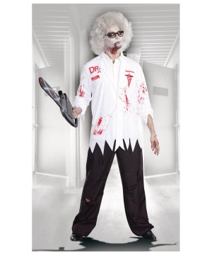 Graveyard Shift Doctor Zombie Mens Costume