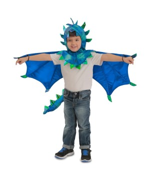Hooded Sully Dragon Boys Costume