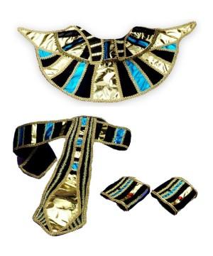 Cleopatra 3 Piece Womens Egyptian Accessory Kit