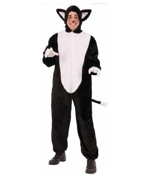 Elegant Cat Men Mascot Costume