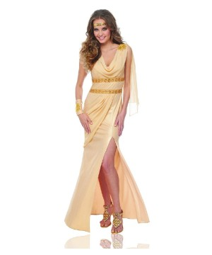 Elegant Greek Sun Goddess Womens Costume