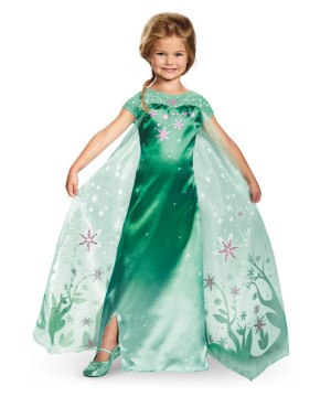 Elsa Frozen Fever Toddler Girls Costume