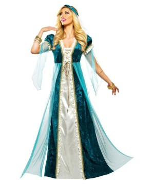 Emerald Gem Juliet Womens Costume