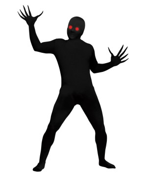 Fading Eyes Shadow Demon Boys Costume