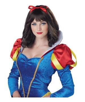 Fairest Snow White Womens Wig