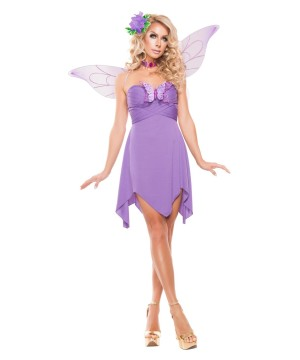 Lilac Fairy Womens Costume deluxe