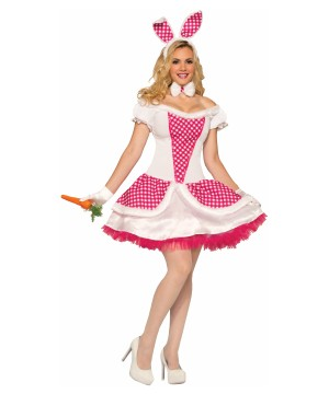 Farm Raised Bunny Womens Costume