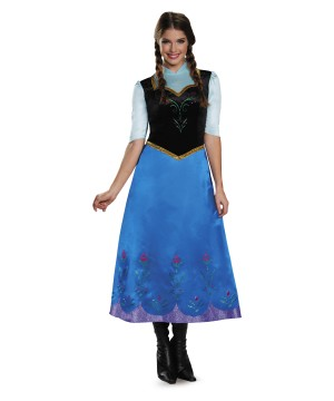 Frozen Anna Womens Costume deluxe