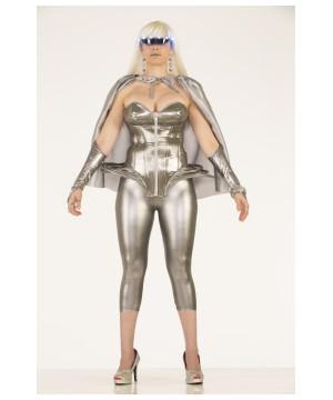 Futuristic Corset Womens Costume