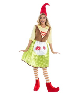 Ms Gnome Womens Costume