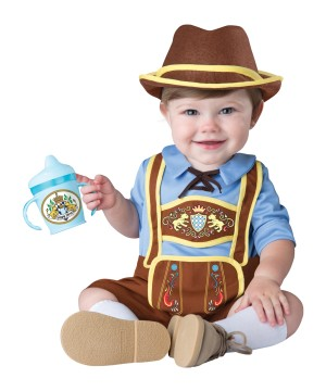 German Lederhosen Bavarian Baby Boy Costume