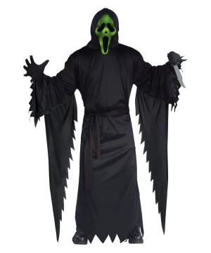 Light up Ghost Face Costume