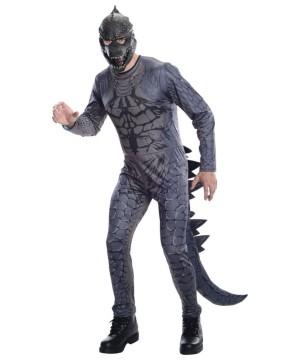 Godzilla 3d Effect Mens Costume