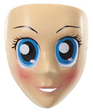 Googly Blue Eyes Anime Mask