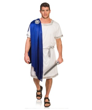 Greek Emperor Royal Toga Mens Costume