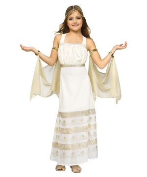 Greek Glamour Goddess Girls Costume