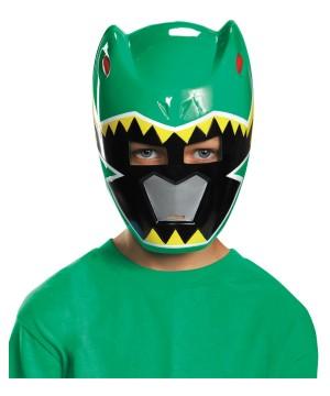 Green Power Ranger Dino Charge Boys Mask