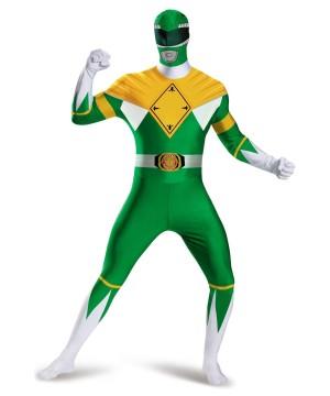 Power Rangers Green Ranger Teen Boys Costume