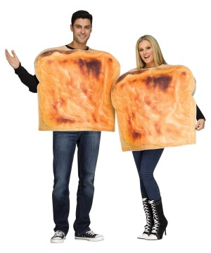 Grilled Cheese Couples Costume
