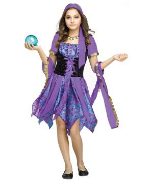 Gypsy Fortune Teller Girls Costume