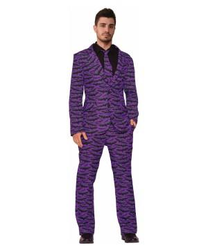 Mens Halloween Bat Suit Costume