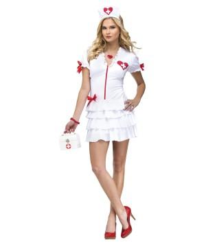 Heartbeat Sweetie Nurse Womens Costume