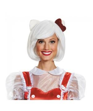 Hello Kitty Women Wig