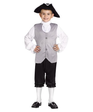 Historic Colonial Boys Costume