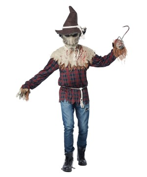 Horrifyingly Sadistic Scarecrow Mens Costume