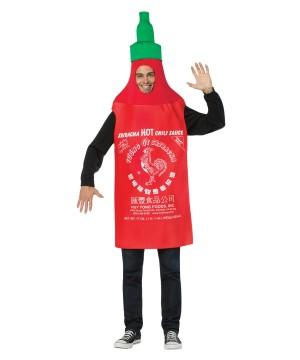 Hot Sriracha Sauce Mens Costume