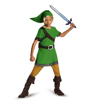 Legend of Zelda Hyrule Link Boys Costume