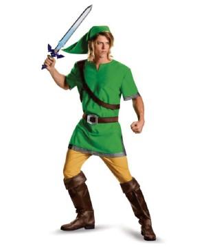 Legend of Zelda Hyrule Link Mens Costume