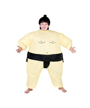 Inflatable Sumo Wrestler Boys Costume