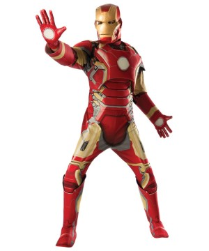 Marvel Iron Man Mark 43 Mens Costume deluxe