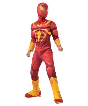 Iron Spiderman Boys Costume