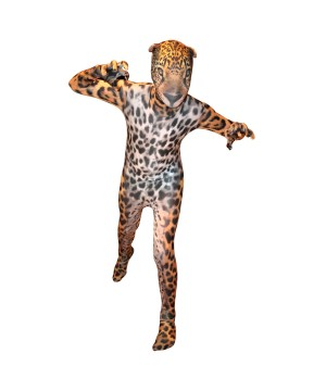Animal Planet Jaguar Morphsuit Kids Costume