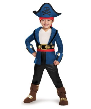 Jake and the Neverland Pirates Captain Jake Toddler Boys Costume