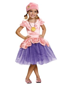 Jake and the Neverland Pirates Izzy Girls Toddler Costume deluxe