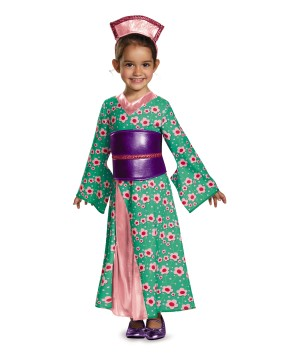 Kimono Cutie Girls Princess Toddler Costume
