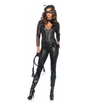 Kittylicious Naughty Catsuit Womens Costume