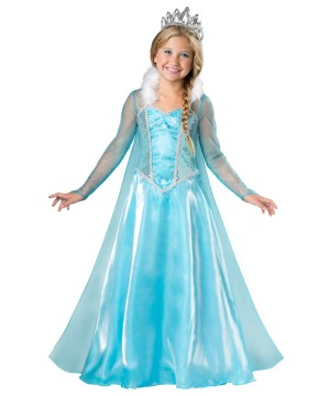 Let It Snow Princess Girls Costume