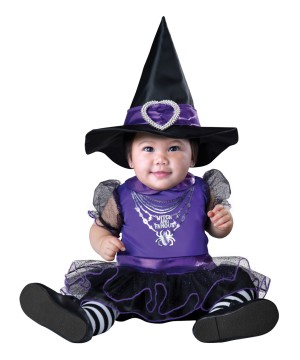 Life of the Witch and Famous Baby Girl Costume