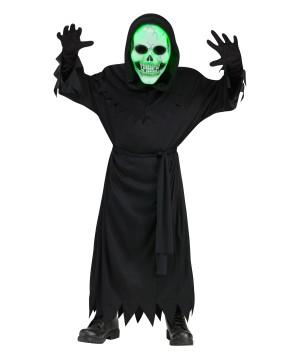 Lite-up Soul Reaper Boys Costume